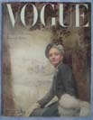 Vogue 1948 September cover