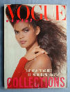 Vogue 1986 March cover